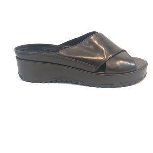 Cole Haan Comfort Memory Flex Slides Wedge Shoes